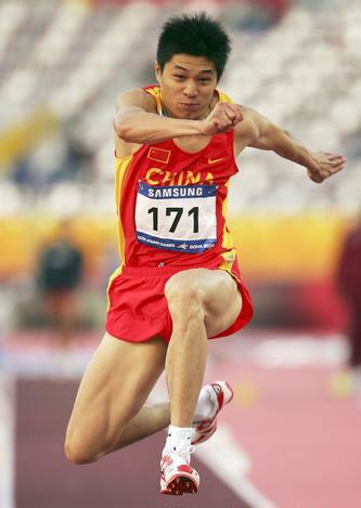 图文-世锦赛中国男子军团一览男子三级跳李延熙