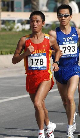 图文-世锦赛中国男子军团一览男子马拉松苏伟