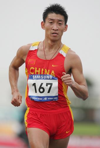 图文-世锦赛中国男子军团一览20公里竞走韩玉成