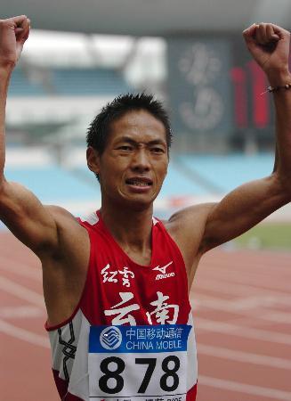 图文-世锦赛中国男子军团一览50公里竞走虞朝鸿