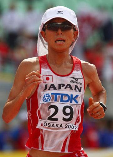 图文-田径世锦标赛男子马拉松日本选手尾方刚