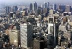 图文-田径世锦赛举办地大阪市景空中俯瞰全城