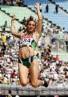 图文-田径世锦赛女子跳远预赛巴西玛吉健美身材