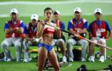 图文-田径世锦赛女子撑杆跳决赛伊娃期待突破纪录