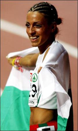 图文-田径世锦赛十大宝贝拉洛娃充满古典美女气质