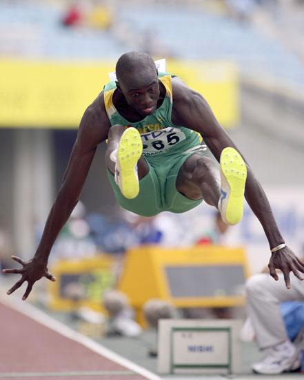 图文-田径世锦赛男子跳远预赛塞尔加尔人幸运晋级