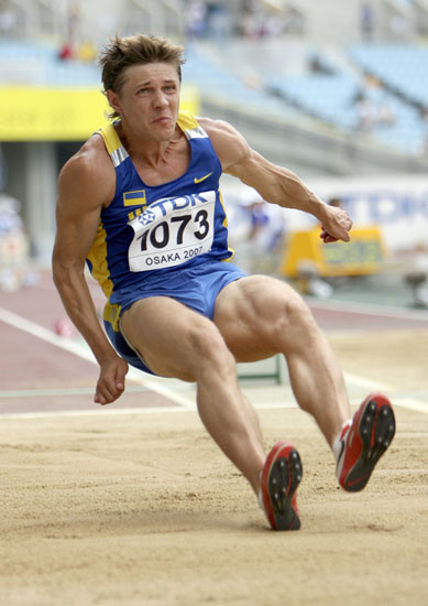 图文-田径世锦赛男子跳远预赛乌克兰人最后一搏