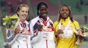 图文-田径世锦赛冠军全集奥古鲁格领衔女子400米