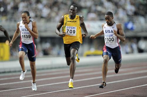 图文-世锦赛男子200米决赛盖伊中途上演关键加速