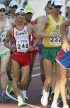 图文-世锦赛男子50公里竞走本土选手力拼好成绩