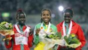 图文-田径世锦赛冠军全集德法尔摘女子5000米桂冠