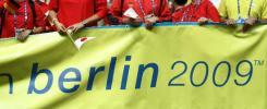 图文-2007年田径世锦赛闭幕式下一届将在德国举行