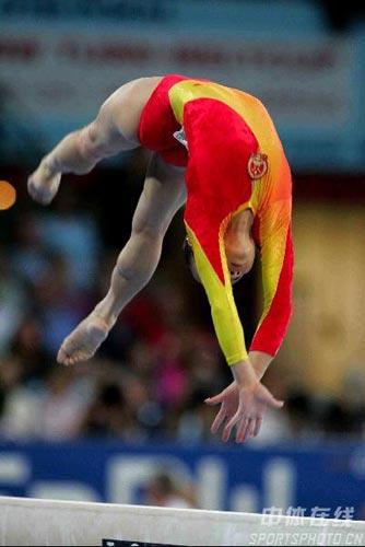 图文-体操世锦赛女子全能决赛肖莎动作优美