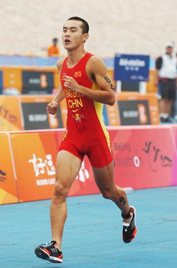 图文-铁人三项世界杯男子组姜智航最终排名65位