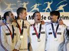 图文-击剑世锦赛冠军图集男子花剑团体冠军法国