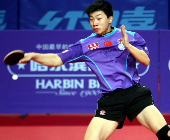 排球-六城乒乓球男单马龙对打马龙中远台拉视频夺冠图文图片