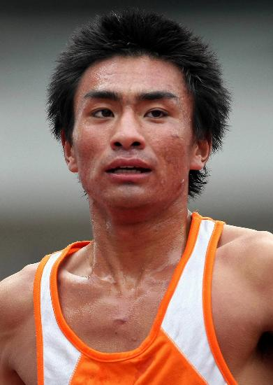 图文-第六届城运会十大新星任龙云打破12年纪录