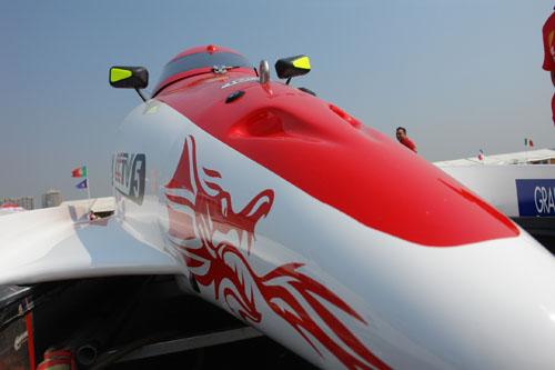 F1摩托艇深圳站难忘瞬间中国队的赛艇