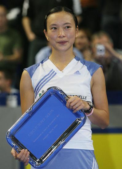 法国羽毛球超级赛赛况本土选手皮红艳夺银