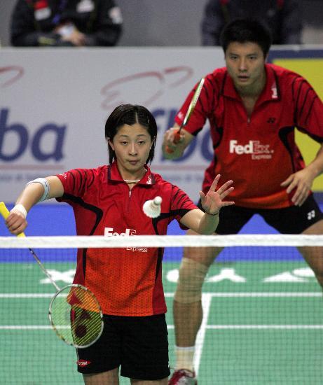 法国羽毛球超级赛赛况谢中博 张亚雯竭尽全力