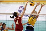 中国女排横扫进亚洲杯决赛
