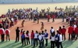 武汉体院举办小学生运动会