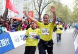 2012北京马拉松鸣枪起跑