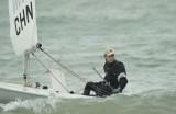 帆船帆板运动员备战全运会