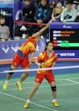 韩国羽球赛11日赛况