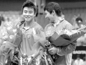 乒乓球中国公开赛落幕王皓/陈�^夺冠奥运资格挣分