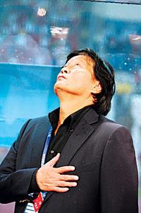 谢亚龙引用诗句羞辱国足朱广沪:我对不起中国球迷