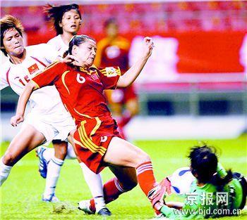 北京晚报:中国女足仅踢10分钟好球