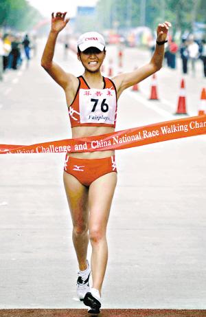 中国首金看女子竞走三女将共同出战力搏第一