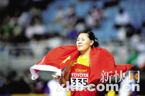 """张文秀链球获铜牌为中国军团打破破""""奖牌荒"""""""