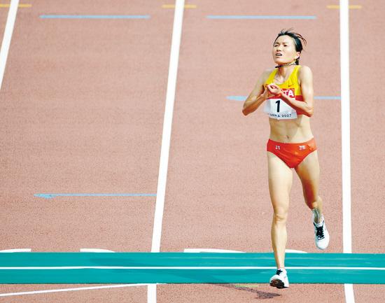 周春秀银牌背后透出希望冠军最后成绩同她只差8秒