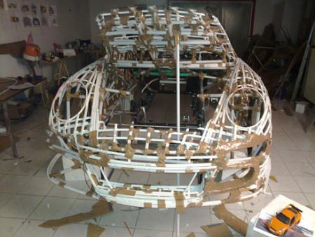 纸制精美艺术球制作步骤