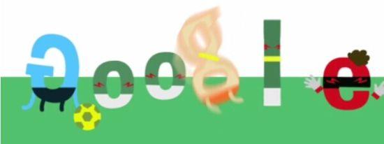 """世界杯巴西vs墨西哥_谷歌涂鸦恶搞罗本假摔 夸张""""跳水""""也太假了(图)_2014世界杯 ..."""