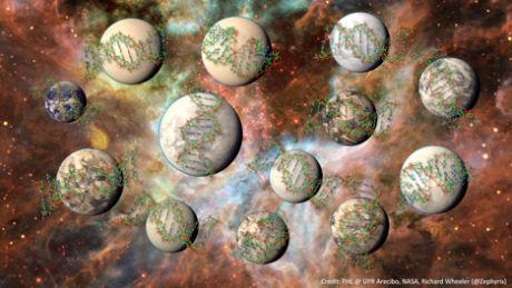 美��天文�W家利用最新�算方法估算出,�y河系可能�碛写蠹s1�|�w可支持生命存在的行星。