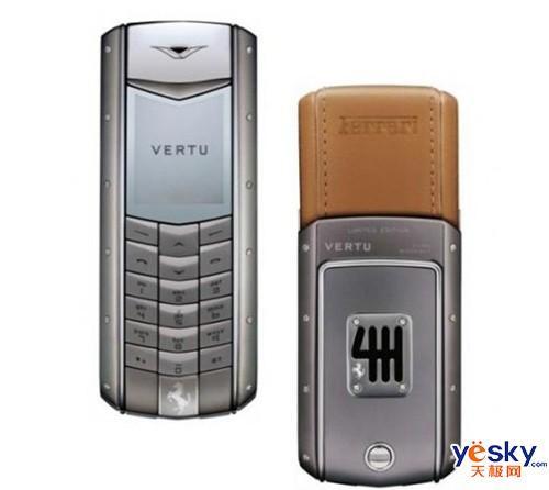 vertu手机ferrari_庆60周年华诞 Vertu推特别版法拉利手机_手机_科技时代_新浪网