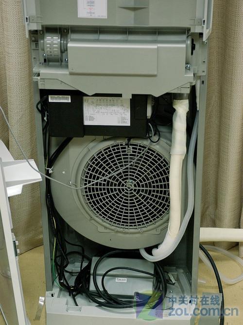 柜式空调室内机结构_半小时暴降8度 三星定频柜式空调评测(3)_家电_科技时代_新浪网
