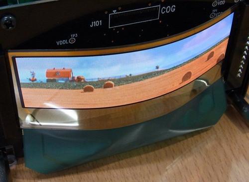 tdk推出透明及弧形oled顯示屏幕(多圖)圖片