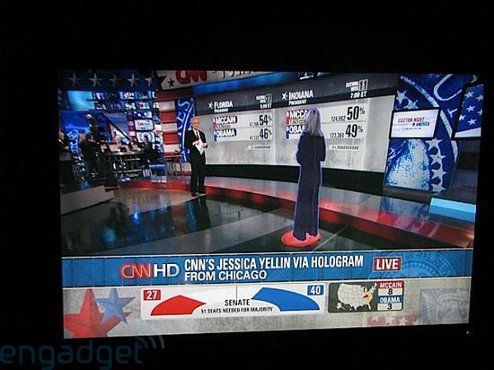 cnn直播_CNN美国大选报道引入全息技术_硬件_科技时代_新浪网