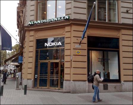 全系手机集合! 诺基亚芬兰赫尔辛基旗舰店解密