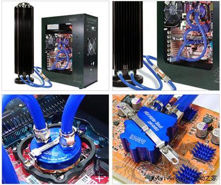 cpu水冷头设计图_低温零噪音 思民水冷散热器促销送礼_软件_科技时代_新浪网