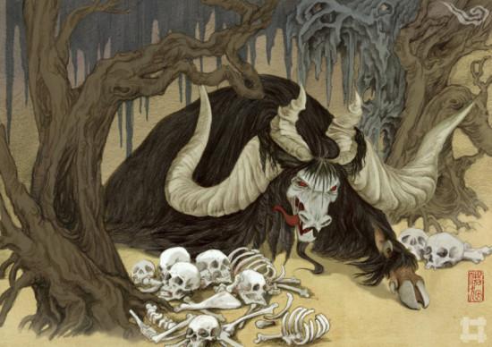 叫兽网视频_插画《山海兽》根据《山海经》内容还原古兽_文化读书频道_新浪网