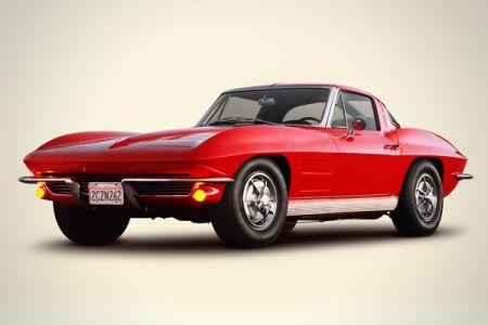 图为1963年版雪佛兰Corvette