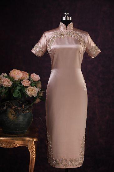 One of Mrs. Koo's Mandarin dresses