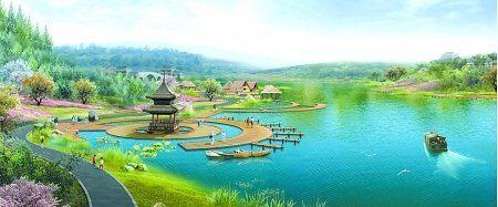 湖_花海盛开不败 重庆璧山将投5亿重塑秀湖公园