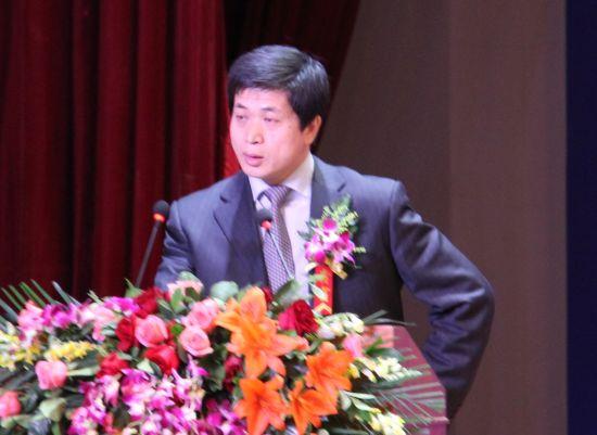 2012年中国资本市场峰会于12月3日在北京举行。图为中信证券董事总经理高占军。(新浪财经 程祖灏 摄)