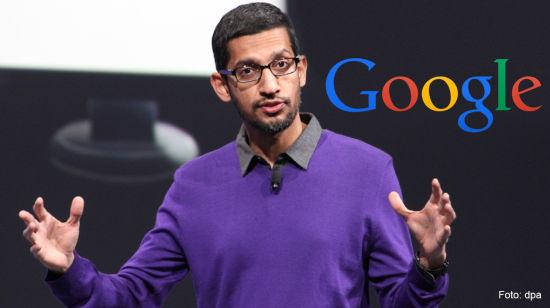 谷歌CEO皮查伊